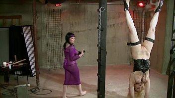 Excite bondage Lesbian bondage sex: black n blue bondage