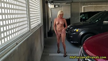 She Just Loves Getting Naked In Public