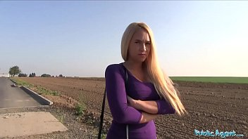 Public Agent Teen blonde Briana Bounce with the real big boobs