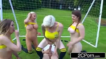 ZZ Cup: Team Big Tits Tamara Grace, Lucia Love, Michelle Thorne, Mila Milan