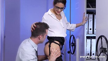Carolina Abril Takes it From Behind in the Office image