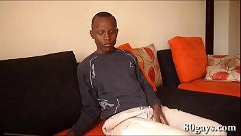 African Twink Joseph Jerking Off