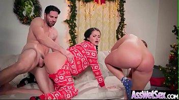 (Allie Haze & Harley Jade) Big Butt Girl Love Deep Anal Sex vid-06