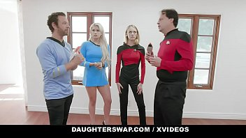 DaughterSwap - Cosplay Teens Deepthroat And Fuck Their Stepdads