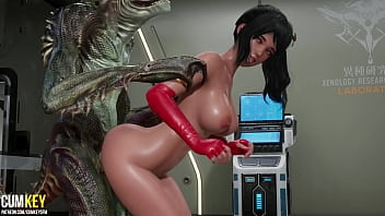 Dinosaur Broke Out Of The Laboratory And Fucked A Gorgeus Slut | 3D Porn Hentai | Fallen Doll