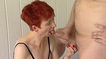 Amateur redhead granny fuck