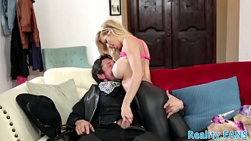 Real milf fucked after taking spandex off