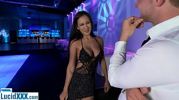 Big boobs escort zurich - Petite waitress babe is also an escort but gets busted