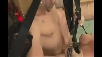 Mom learning the use of a sex swing thumbnail