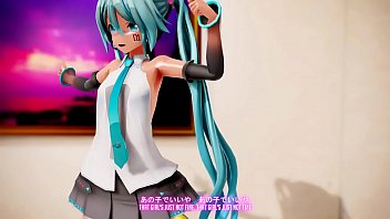 Sex Crazed Miku Teaches Other Girls How To Be Proper Whore