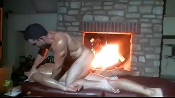 Straight fratmen roommates naked massage