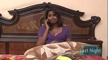 దుబాయి లో భర్త ...... ఉహాల్లో  భార్య .... New Swathinaidu Romantic Hot Short Fil thumbnail