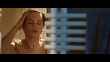 Nude towel Sneak week scream week: sexy nude brunette shower and towel run