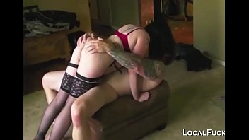She likes to lick ass before anal sex