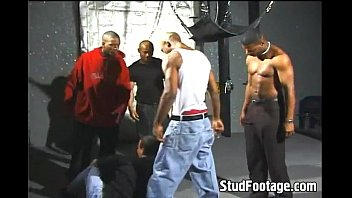 Gay hot guys - Hot black guys destroys white butt