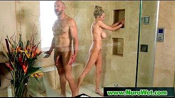 Image: Pretty busty babe slippery sex nuru massage 18