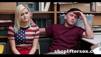 Watching My GF Fuck The SecurityGuard |shopliftersex.com