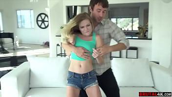 Chloe Foster has been rude to her older stepbrother - FULL SCENE on http://Brutal4K.com