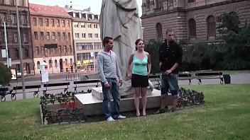 Statue sex literotica - Group of teens public street sex by a famous statue part 1
