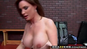 Big Tits at School - (Dirty PE milf Diamond Foxxx) gives her students the ass - Brazzers preview image