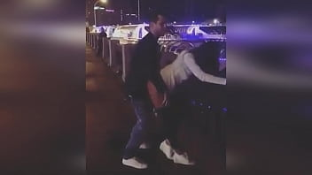 Russian sex porn on the Waterfront in Moscow / Fuck a young 18 year Old Russian whore in Moscow
