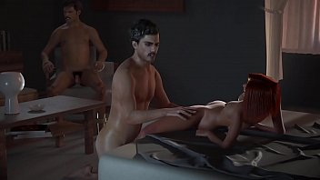 Hentai RedHead Gets Fucked By Pablo Right Infront of Pena - NarcosXX