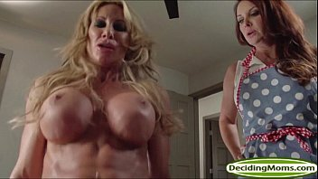 Busty stepmom cumming - Guy fucks stepmom janet mason and her milf friend farrah dahl