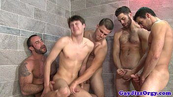 Gay community yellow pages - Gay bathroom orgy with horny hunks