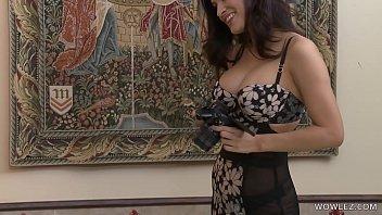 Beautiful Ladies In Black Stockings Lick Each Other Out - Allie Haze, Vanessa Veracruz