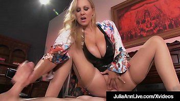 Cock Hungry Cougar Julia Ann Rides Boy Toy's Face!