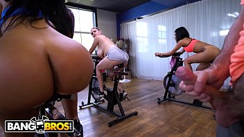 BANGBROS - Spin Instructor Fucks Big Booty Latin Babe Rose Monroe In Class!