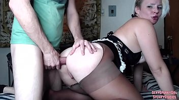 Marrkech sexy girls Hot maid gets anal swallows cum on cam