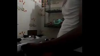 raji making tea for sex partner