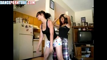 teen white trash sluts dancing and humping each other