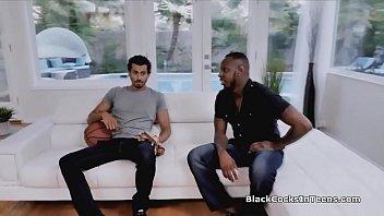 Big black cocks tag teaming kinky tutor