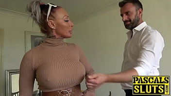 Busty MILF succubus analled roughly before eating cum porno izle