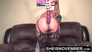 Sticking My Sweet Ebony Asian Ass Out & Pussy Playing With My Body Sheisnovember