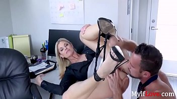 Frisky Business Inside MILF Boss- India Summer