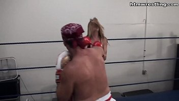 Boxing Ryona Ashley Lane