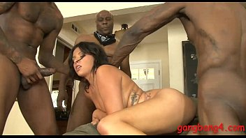 Danica Dillon dped by big black boners