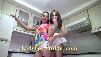 Double Ladyboys In Need Of You