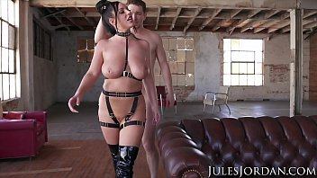 Jules Jordan - Angela White Gets Dp'd In A Desolate Warehouse
