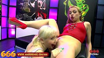 Maturtmom cum Cute blonde piss partners swallow cum - 666bukkake