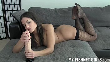 I will tease you in my fishnets while you jerk off JOI
