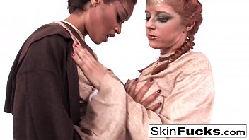 Sexy Skin teaches new recruit Penny Pax the force
