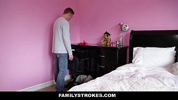 FamilyStrokes - Cumming Home To New Step Sister thumbnail