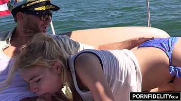 Wife fucked on the boat Pornfidelity alina west ass fucked on a boat