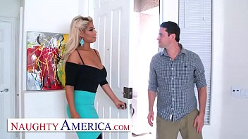 Naughty America Bridgette B. is a lonely, kinky housewife
