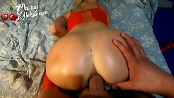 7811 MILF in Red Double Penetration Big Dick and Dildo - Creampie preview