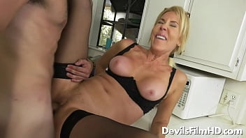 Younger guy fucks grandma Erica Lauren